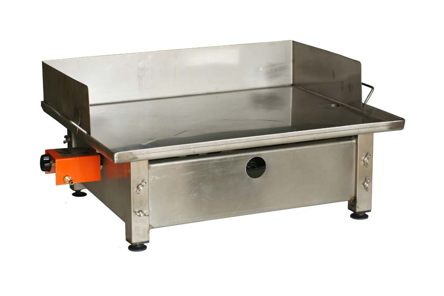 Table de cuisson plancha inox d 39 int rieur for Table pour plancha inox